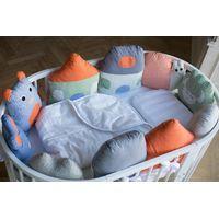 """Комплект постельного белья ComfortBaby Colorit """"Зверюшки"""" (10 бортиков-игрушек)"""