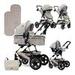 Детская универсальная коляска 3в1 Lorelli LORA