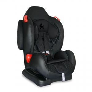 Детское автокресло Lorelli F2+SPS Black Leather