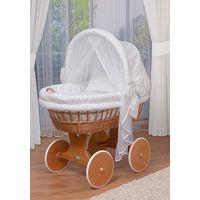 """Детская кроватка-люлька """"ComfortBaby Home"""" (натуральная ива)"""